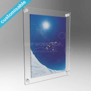 Clear Easy Access Picture Frame