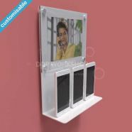 Product Shelf with Poster Display