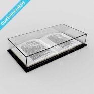 Acrylic Open Book Display Case