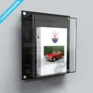 Acrylic Wall Mounted Book Display Case