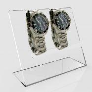 Diamond Acrylic Dual Watch Display