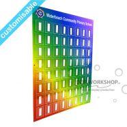 Rainbow School Photo Board