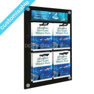 Gift Card Display Wall Mounted - 2x2