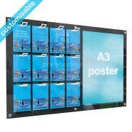 Acrylic Wall Mounted Gift Card Display 12