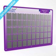 Healthcare Staff Photoboard A7 with custom graphics