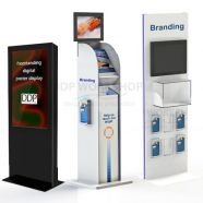 Floor Standing Multimedia Displays