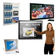 Table Top and Wall Mountable Multimedia Screens